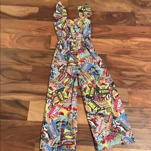 Other - Marvel romper custom made 6/7